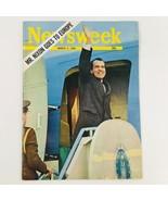 Newsweek Magazine March 3 1969 Mr. Richard Nixon Goes to Europe No Label - $23.75