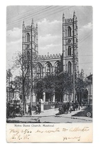 Canada Montreal Quebec Notre Dame Church Valentines Series UDB Postcard - $4.99