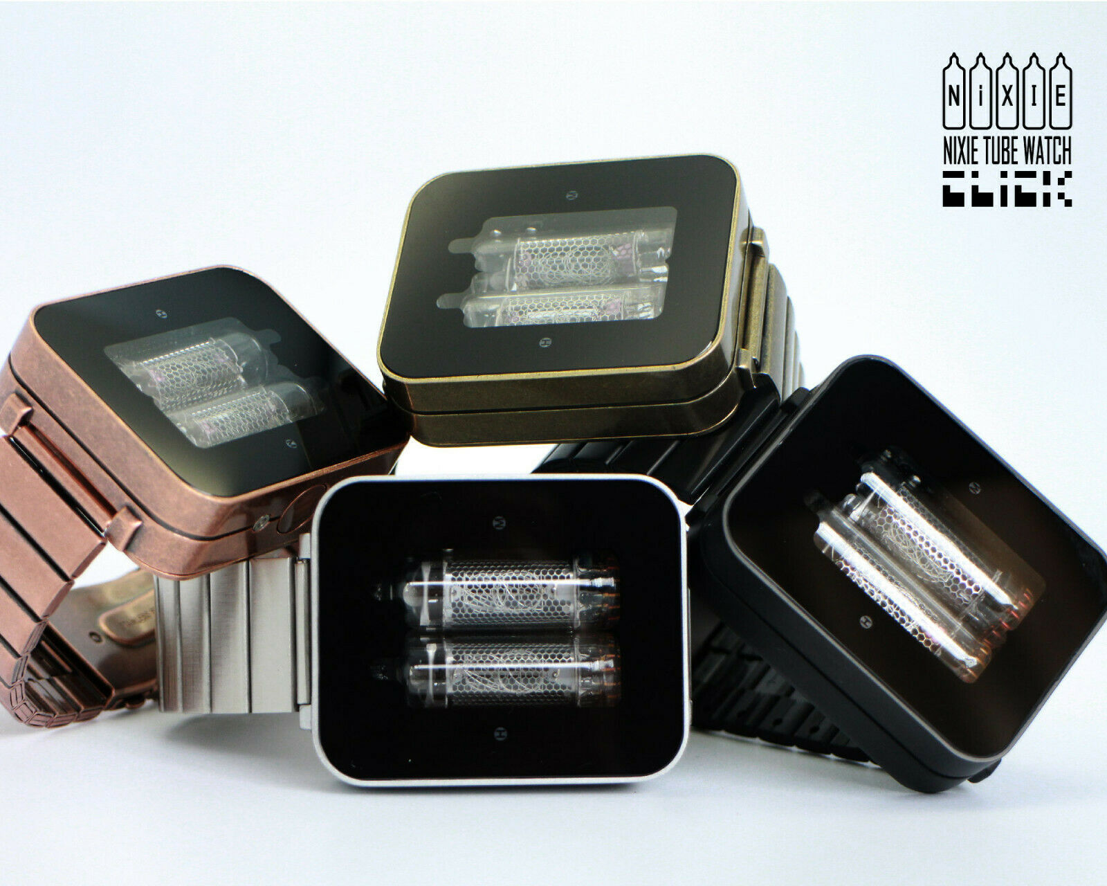 Nixie tube watch geek vintage collectibles rare russia tubes C.C.C.P. made tubes image 3