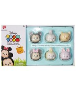 DISNEY* 6pc Box TSUM TSUM Character PASTEL PARADE Limited Edition FIGURES New! - $16.19