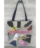 Just Kicking It (MS Away) Tote Bag - $75.00