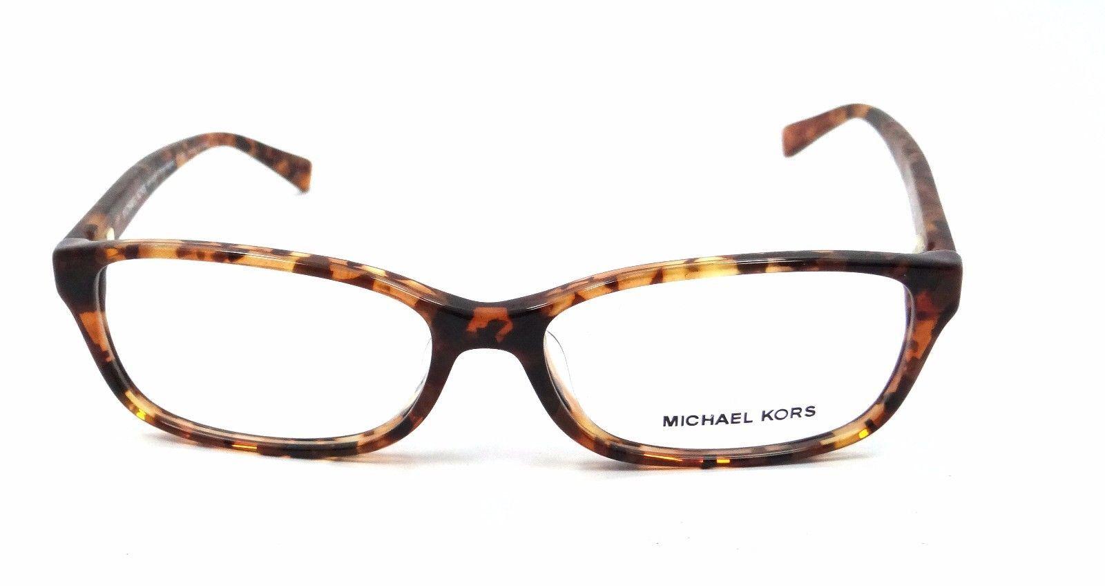 Michael Kors Rx Eyeglasses Frames MK 4024F 3066 Porto Alegre 55x15 Brwn Tortoise