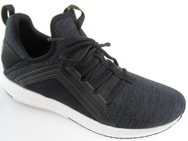 PUMA MEGA NRGY KNIT MEN'S PUMA BLACK SOFTFOAM RUNNING SHOES, #190371-01 - $49.99
