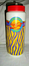 Coca Cola Plastic Cooler Cup Tumbler The Official Soft Drink of Summer w/ straw - $9.49