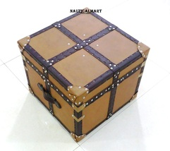 NauticalMart Aviator Mayfair Leather Trunk Coffee Table - $899.00