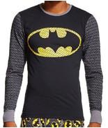 BATMAN Cool Johns Long Underwear S 28 30 Small NEW Lounge Sleep Shirt - $18.00