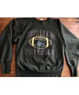 NOTRE DAME UNIVERSITY Reverse Weave Large CHAMPION SWEATSHIRT VTG 90's - $40.84