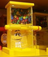 M&M's World Zig Zag YELLOW Candy Candies Dispenser New w Tags Makes Grea... - $94.05