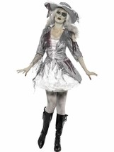 Ghost Ship Pirate Treasure, Halloween Ghost Ship Fancy Dress, UK Size 12-14 - $44.30