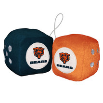 Chicago Bears Fuzzy Dice [Free Shipping]**Free Shipping** - $9.99