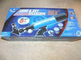 Edu Science Land & Sky Telescope 90X Power (New in Box) - $29.69