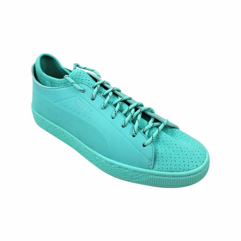 Puma Basket Sock Lo Diamond Diamond Blue  366431 01 Men's Size 8