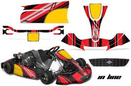 Go Kart Graphics Kit Decal Sticker Wrap For Righetti Ridolfi XTR14 INLINE RED - $197.95