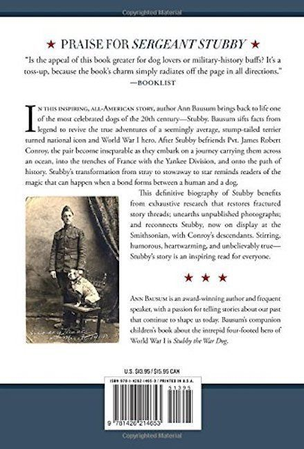 Sergeant Stubby: How a Stray Dog Helped Win WW1 : Pit Bull : New Hardcover  @ZB