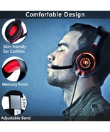 Headphones Gaming Premium Stereo Microphone PS4 PC Surround Hum Of Noise - $206.40
