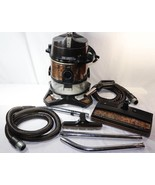 FOR REPAIR Rexair Rainbow SE Bagless Canister Vacuum with Hoses & Attach... - $197.99