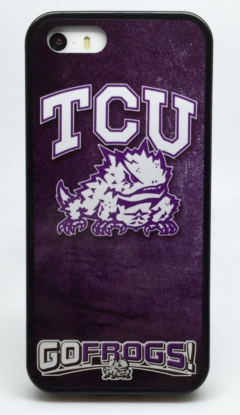 NEW TCU HORNED FROGS COLLEGE 2 FOR 1 PHONE CASE FOR iPHONE 7 6S 6 PLUS 5C 5 5S 4