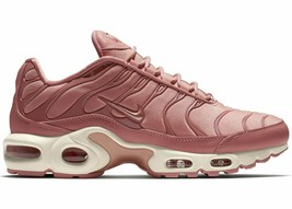Nike Air Max Plus PINK/WHITE Women Size 7.5 Brand New Fast Shipping (AT5695-600) - $123.55