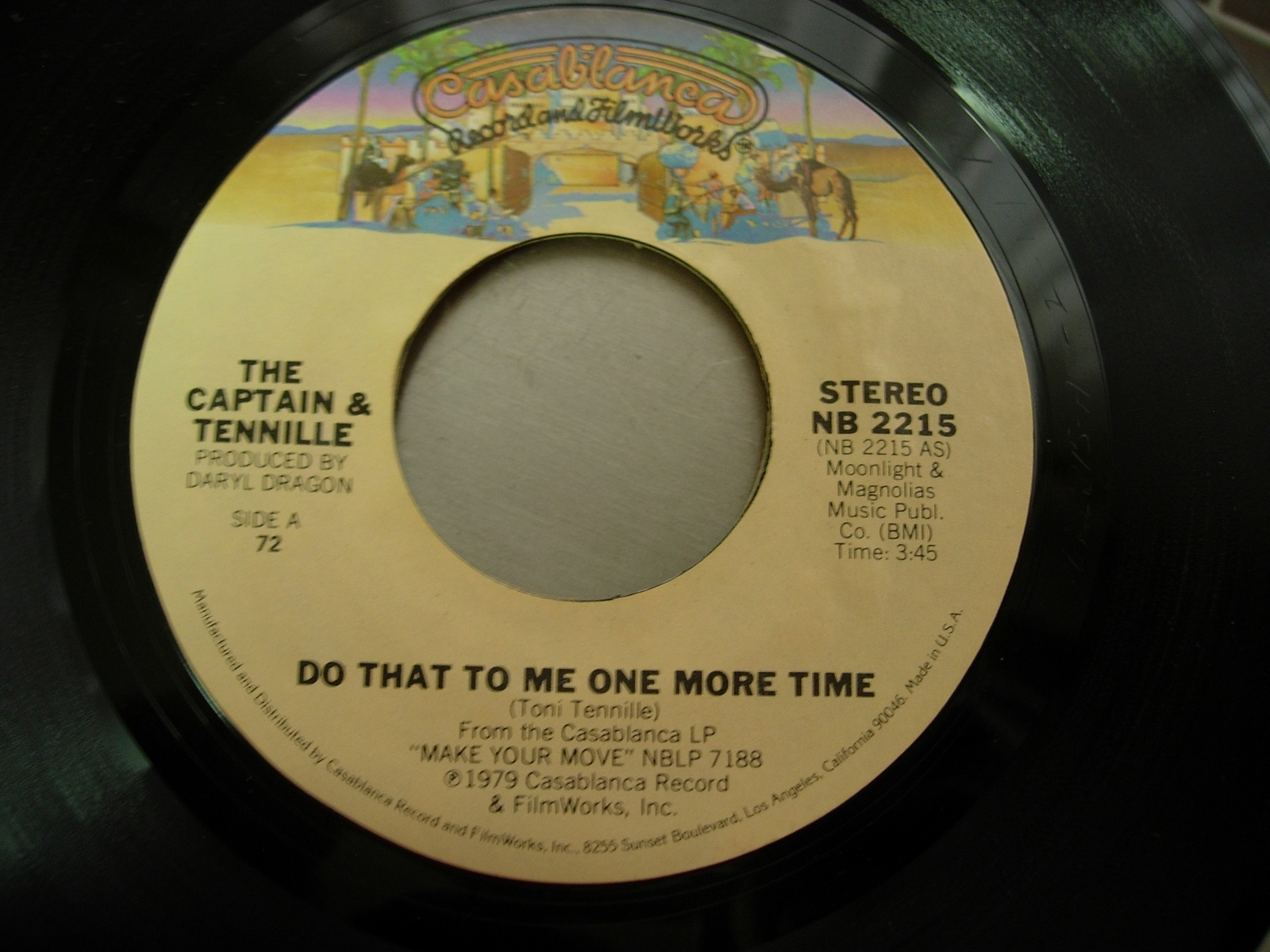 The Captain & Tennille - Do That To Me One More Time / Deep In the Dark -NB 2215