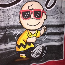 "Peanuts Charlie Brown t-shirt   Medium 38-40  ""PARDON MY SWAG"" Red 100% ... - $1.98"