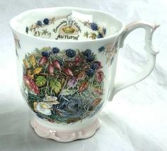 Royal Doulton Brambly Hedge Autumn Beaker Tea Coffee Mug Cup Jill Barkle... - $29.99