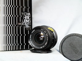 Canon 28MM FD Fit Hoya Prime Wide Angle Lens Boxed -Nice-  Bokeh - A1 AE... - $25.00