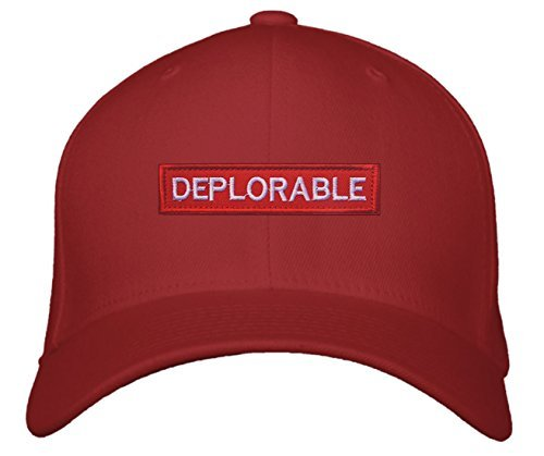 Deplorable Hat Funny Pro Trump Style Color Options (Red)