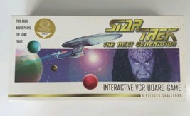 Star Trek The Next Generation Interactive VCR Board Game A Klingon Chall... - $24.30