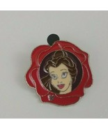 2011 Disney Flower Collection Hidden Mickey 3 of 5 Belle Trading Pin - $7.69