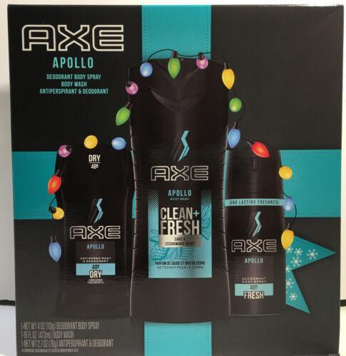 AXE Apollo Holiday Gift Set (Body Wash X 2, Detailer) 3 Ct - $19.98