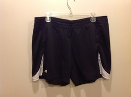 Russell Athletic Black w White Accents Running/Workout Shorts Sz XXL