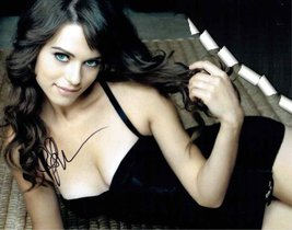 Lyndsy Fonseca 'Nikita' Signed 11x14 Photo Certified Authentic PSA/DNA COA - $138.59