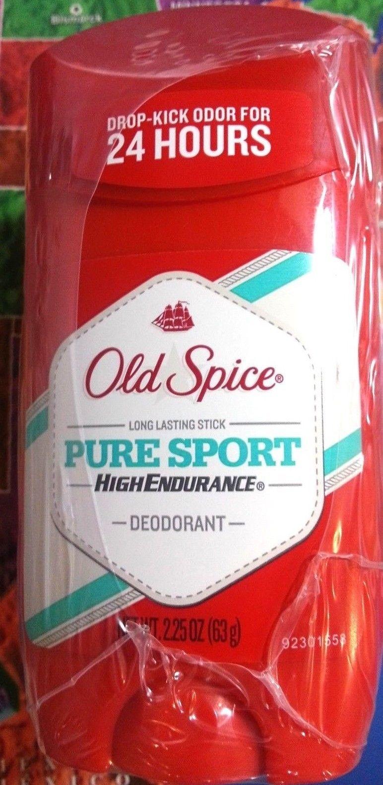 12 pk Old Spice Pure Sport High Endurance Deodorant 2.25 oz each Odor Protection