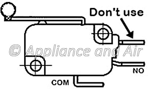 Hopper Lid Switch 80491 US Stove Breckwell Ashley King Vogelzang + Free Hardware