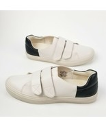Nine West Oleandro Hook Strap Fashion Sneakers 303, Off White/Black, 8 US  - $45.53