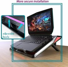 IETS GT300 Double Blower Laptop Cooling Pad for 14-17 Inch Gaming Laptop, Cooler image 4