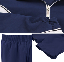 Women's Casual Jogger Gym Fitness Running Working Out Straight Leg Tracksuit Set image 3