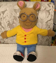 "Marc Brown Talking Arthur Plush Toy - Playskool, 18"" Doll, Vintage 1996 - $27.72"