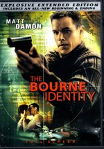 DVD -  The Bourne Identity - $7.95