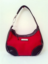Reaction by Kenneth Cole Red Black Polyester Ho... - $20.50