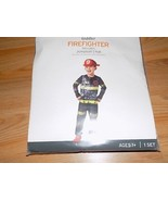 Size 18-24 Months Firefighter Fire Chief Halloween Costume Jumpsuit & Ha... - $18.00