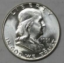 1951 Franklin FBL Silver Half Dollar Coin Lot# E 52