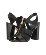 MICHAEL Michael Kors Damita Block Heel Sandals, Multiple Sizes Black 40S... - $99.95