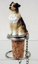 Australian Shepherd Brown w/Docked Tail Bottle Stopper - $14.99