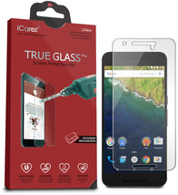iCarez Tempered Glass Screen Protector for Huawei Google Nexus 6P with Lifetime  - $27.38
