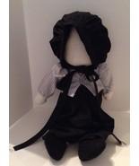 Vtg Hand Made Sewn Amish No Face Doll Girl Folk Art Collectable Gift EUC - $22.23