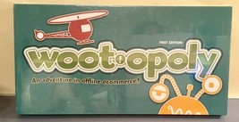 2012 Late For The Sky Woot Opoly Wootopoly E-Commerce Themed Board Game Nisb - $9.99