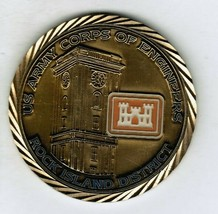 Army Corps Engineers USACE Challenge Coin Rock Island 2008 Midwest Flood Fighter - $32.00