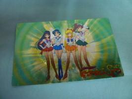 VINTAGE Japan LIMITED RARE Sailor Moon Fortune Plate Foil Prism Inner Ca... - $85.00
