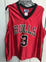 Preowned. NBA Chicago Bulls jersey.  Wallace – #3. Kids size large - $33.66